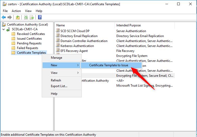 SCCM Cloud Management Gateway