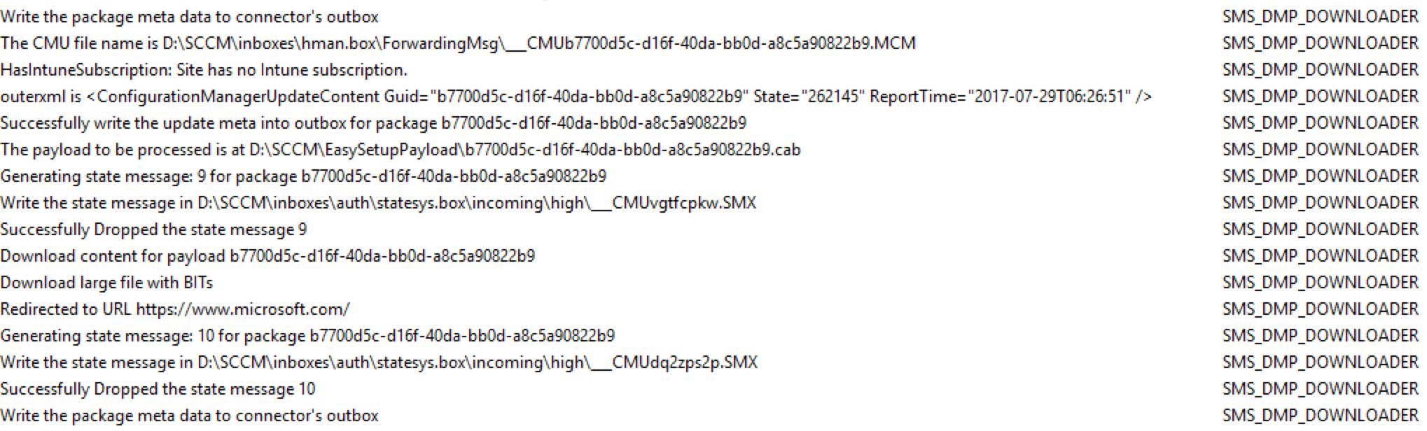SCCM 1706 Upgrade Guide