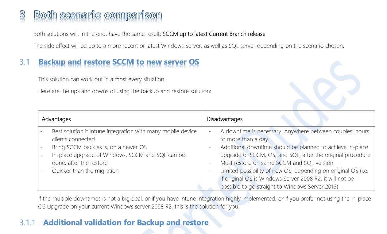 SCCM Migration Guide
