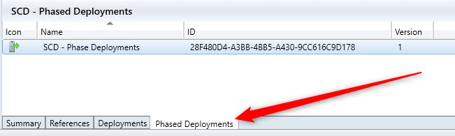SCCM Phased Deployments